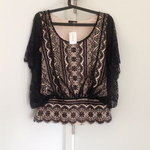 NWT Brand new lace top - Size S